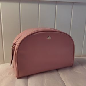 Kate Spade Pink Nylon Cosmetic Bag